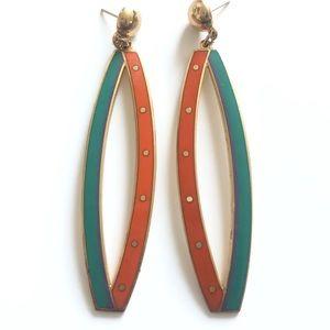 """Laurel Burch """"Prism"""" Vintage Earrings"""